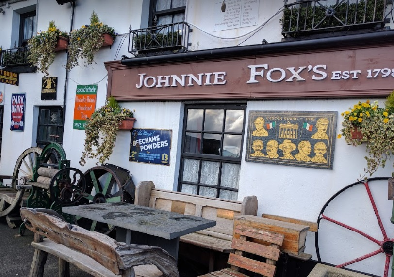 Johnnie Foxes pub, the highest pub In Ireland